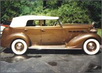 Model 120B Convertible Sedan - Don Russell